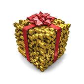 Money gift dollars — Stok fotoğraf