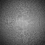 Ultimate dollar maze — Stock Photo #9925545