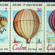 Postage stamps with the image balloons — Stock Photo #17617279