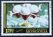 Poštovní známka s balónem obrazu — Stock fotografie