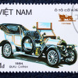 Postage stamp with the image of retro car — Stockfoto
