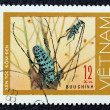 Stock Photo: Postage stamp with image of insect
