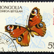 Postage stamp with the image of a butterfly — Stockfoto