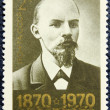 Postage stamp with the image of V.I. Lenin — 图库照片
