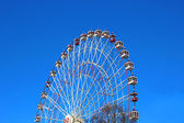 Ferris wheel in Moscow — Stock Photo