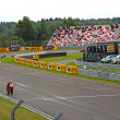 Stock Photo: Russistage of Superbike World Championship, on July 21, 2013, in Moscow Raceway, Moscow, Russia.