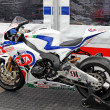 Exhibition race bikes. Russian stage of the Superbike World Championship, on July 21, 2013, in Moscow Raceway, Moscow, Russia. — Stock Photo #28656281