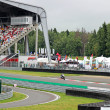 July 21, 2013, in Moscow Raceway, Moscow, Russia, FIM EUROPE ROAD RACING EUROPEAN CHAMPIONSHIP 2013, EMN: 10-86 Class: Superstock 600cc — Stock Photo