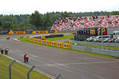 Russian stage of the Superbike World Championship, on July 21, 2013, in Moscow Raceway, Moscow, Russia. — Stock Photo