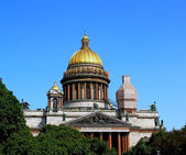 St. Isaac's Cathedral in St. Petersburg — Stok fotoğraf
