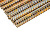 Construction steel reinforcement — Stock Photo