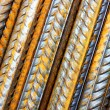 Rods of steel rebar — Stock Photo