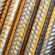Rods of steel rebar — Stock Photo #32846569