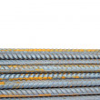 Stock Photo: Construction steel reinforcement