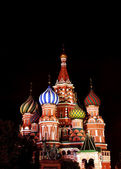 Cathedral of Basil Blessed in Moscow on Red Square — Stok fotoğraf
