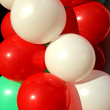 Background of colorful Inflatable balls — Foto de Stock