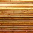 Unplaned thick planks — Stock Photo