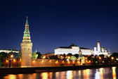 Moscow Kremlin at night — Stock Photo