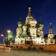 Cathedral of Basil Blessed in Moscow — Stock Photo