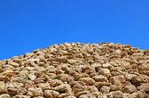 Mountain of sandstone rocks — Stock Photo
