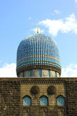 Dome of the central Muslim mosque in St. Petersburg — Stock Photo