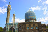Central Muslim mosque in St. Petersburg — Stock Photo