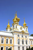 Church housing of the Grand Palace in Peterhof — Foto Stock