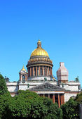 St. Isaac's Cathedral in St. Petersburg — 图库照片
