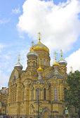 успенское двор монастыря оптина пустынь в санкт-петербурге — Стоковое фото
