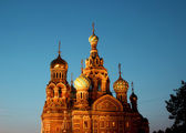 Cathedral of the Resurrection on Spilled Blood (Church of Our Sa — Stockfoto