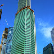 "Stock Photo: Construction of tower ""Eurasia"" of business center ""Moscow City"""