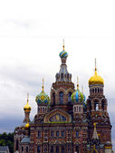 Cathedral of the Resurrection on Spilled Blood (Church of Our Sa — Stock Photo