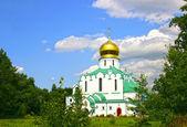 Feodorovsky Sovereign's Cathedral in the Pushkin (Leningrad regi — Stok fotoğraf