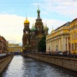 Cathedral of the Resurrection on Spilled Blood — Stock Photo