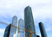 """Skyscrapers of Business Center """"Moscow-City"""" — Stock Photo"""