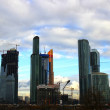 "Stock Photo: Skyscrapers of Business Center ""Moscow-City"""