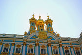 Orthodox church of Resurrection in the Catherine Palace in Pushk — 图库照片
