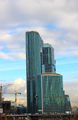 "Skyscrapers of Business Center ""Moscow-City"" — Stock Photo"
