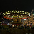 Festively decorated roundabout at Red Square in Moscow — Stock Photo #42746995