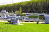 Ship howitzer — Stock Photo
