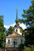 Znamenskaya Church in Pushkin (Leningrad region),  Russia — Stock Photo