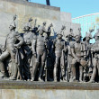 Постер, плакат: Sculptural group of Russian generals which fought with Napoleon