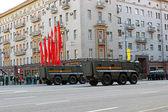 Desfile militar en moscú — Foto de Stock
