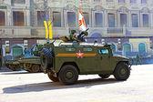 Parata militare di mosca — Foto Stock