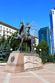 Monument to Russian commander Pyotr Bagration in Moscow — Stock Photo