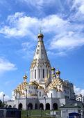 Memorial Church of All Saints in Minsk — Foto de Stock