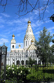 Memorial Church of All Saints in Minsk — Zdjęcie stockowe