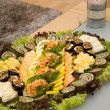Fish plate — Stock Photo #19147273