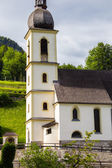 Ramsau Church in Summer — Stock Photo