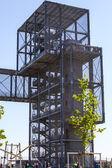 Indemann as metallbau — Stock Photo